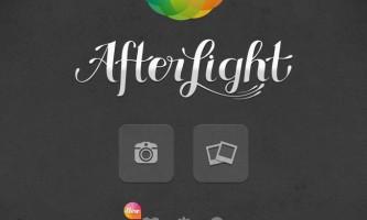 Afterlight редактор фото для iphone