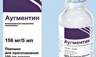 Аугментин суспензія інструкція із застосування
