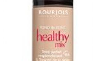 Bourjois healthy mix тональний крем