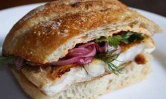 Бутерброди з червоною рибу. Смачно і просто