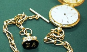 Годинники на ланцюжку - символ шляхетності й краси
