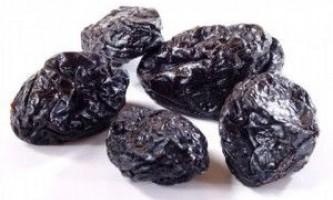 Чорнослив - оздоровлення організму
