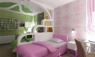 Дитяча кімната для різностатевих дітей