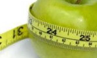 Дієта на 6 днів мінус 6 кг