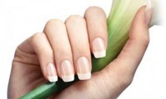 Домашні средcтв для відбілювання нігтів