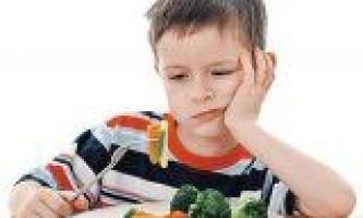 Якщо дитина не їсть овочі