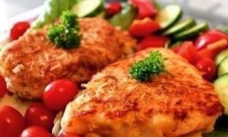 Філе червоної риби в картопляному клярі