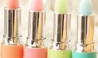 Гігієнічна губна помада: лікує і захищає