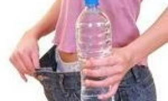 Вода для схуднення - основа основ