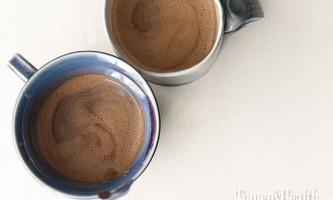 Гарячий шоколад: низькокалорійні варіанти