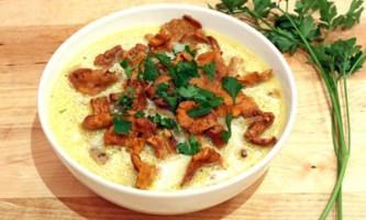 Грибні бульйони і супи