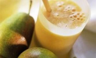 Грушевий сік: користь соку груші