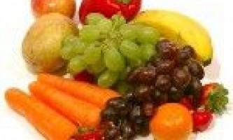 Зберігання фруктів і овочів