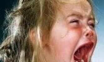 Істерики у дитини 2 роки | комаровский