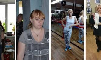Історія схуднення любови хацаюк на 30 кг. Силові тренування hot iron. Фото до і після