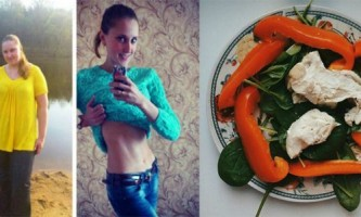 Історія схуднення надії попкової на 58 кг. Правильне харчування і активний спосіб життя. Фото до і після