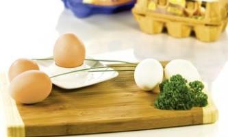 Яєчна дієта на 2 тижні - мінус 5 кг