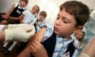Як проводити щеплення дітям