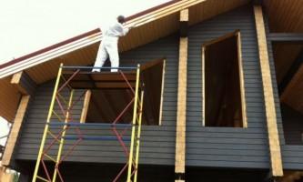 Як і чим пофарбувати дерев`яний будинок