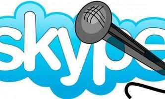 Як налаштувати мікрофон в skype?