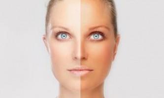 Як відбілити шкіру обличчя в домашніх умовах