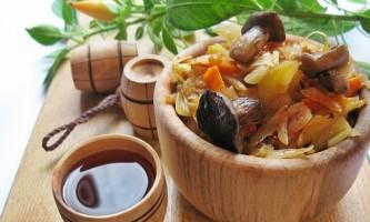 Як приготувати рагу з грибами