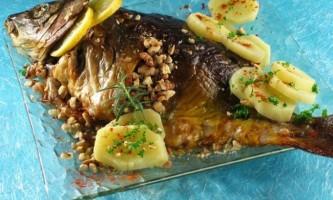 Як приготувати рибу сазан