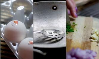 Як зробити бутерброд з яєчнею плетухою