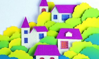 Як зробити будиночок з паперу