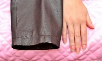 Як зробити шкіряну куртку м`якше
