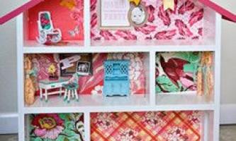 Як зробити ляльковий будиночок