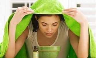 Як зробити парову ванночку для обличчя