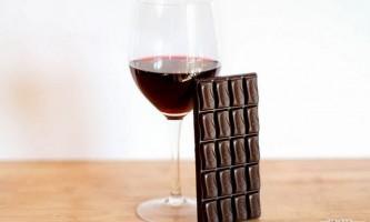 Як поєднувати вино та шоколад