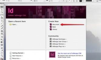 Як створити фон в indesign