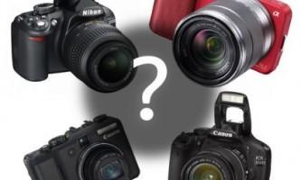 Як вибрати дзеркальний фотоапарат для новачка?