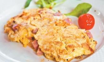 Калорійність омлету (з 2 яєць, з молоком). Скільки калорій на 100 грам?