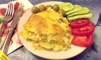 Картопля по-французьки в духовці (покроковий рецепт з фото)