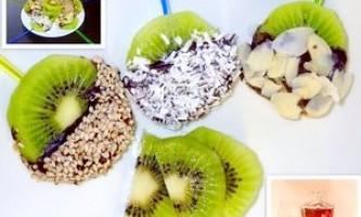 Ківі в шоколаді на десерт і закуску - рецепт
