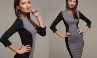 Комбіновані сукні: що модно?