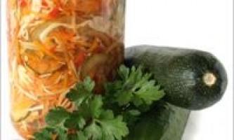 Консервовані салати: заготовки на зиму
