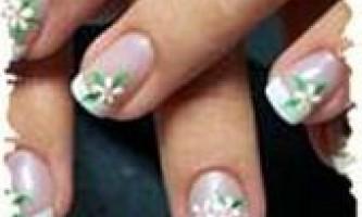 Гарний манікюр на коротких нігтях