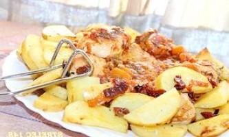 Курка чиліндрон (el pollo al chilindr n). - рецепт