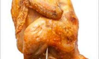 Курка гриль в духовці