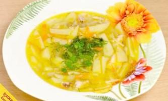 Курячий суп в мультиварці (покроковий рецепт з фото)