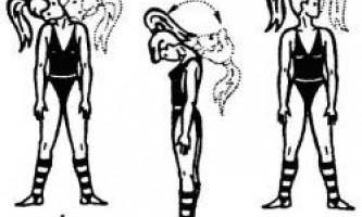 Лікувальна гімнастика при шийно грудному остеохондрозі