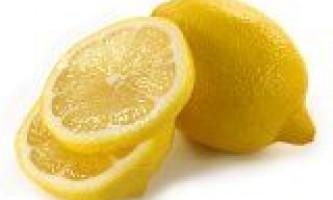 Лимон для краси і здоров`я