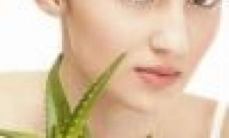 Маска для обличчя з алое позбавить від прищів