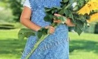 Меланжевої сукня-туніка