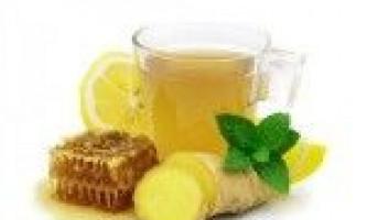 Напій для схуднення з лимоном і імбиром