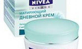 Nivea матирующий денний крем